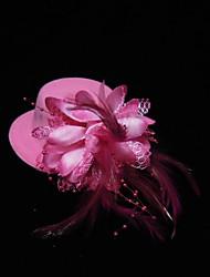 silke blomster hovedstykke bryllupsfest elegant klassisk feminin stil