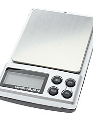 cheap -500g 0.1g Digital Diamond Pocket Jewelry Weigh Scale