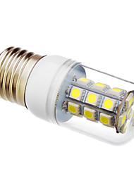 billige -lm LED-kolbepærer T 27 leds SMD 5050 Kold hvid