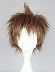 cheap -Cosplay Wigs Dangan Ronpa Cosplay Anime/ Video Games Cosplay Wigs 30 CM Heat Resistant Fiber Women's