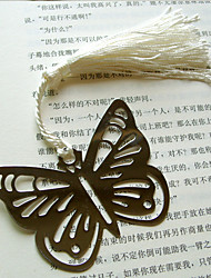 cheap -Hollow-out Butterfly Metal Bookmark
