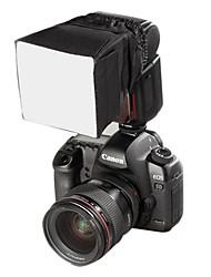Softbox Flash Diffuser Soft Box Lambency Cover 9x9cm Black