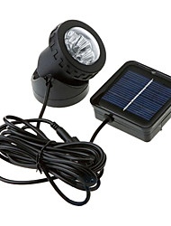 cheap -6-LED Waterproof White Light Solar Powered Spotlight Garden Outdoor Flood Lamp (CIS-57157)