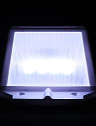 Недорогие -1pc солнечная энергия 4led открытый сад свет сток забор стены крыша двор светодиодная лампа