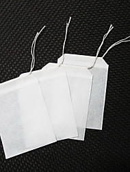 100pcs Non-woven Fabric Tea Bags with String Strainer Tea Infuser Herbal Filter