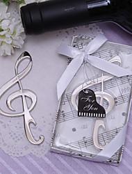 Apribottiglia a forma di chiave di violino