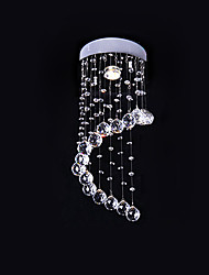 povoljno -SL® Modern / Comtemporary Flush Mount Ambient Light - Crystal, 110-120V 220-240V Bulb not included