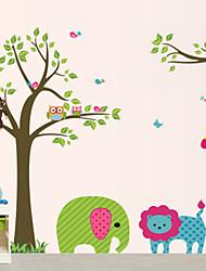 Životinje Zid Naljepnice Zidne naljepnice Dekorativne zidne naljepnice, Vinil Početna Dekoracija Zid preslikača Zid