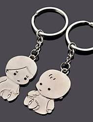 Baby Shower / Birthday Party Favors & Gifts-12Piece/Set Keychain Favors Personalized Silver