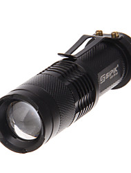 LED Flashlights/Torch LED 240 Lumens Mode Cree XR-E Q5 for Camping/Hiking/Caving Everyday Use Traveling Working Climbing