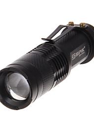 Torce LED LED 240 Lumens Modo Cree XR-E Q5 per Campeggio/Escursionismo/Speleologia Uso quotidiano Viaggi Lavoro Scalata