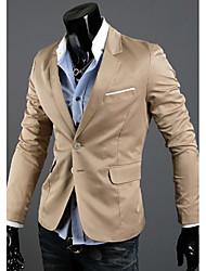 povoljno -Sako Muškarci-Chic & Moderna Blazers Jednobojni