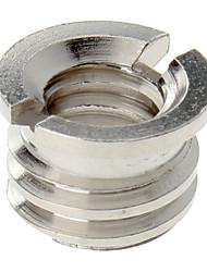 1/8 po - 3/4 po vis pour trépied de l'appareil photo (Silver)