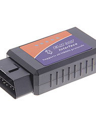 Travaille sur le couple androïde Elm327 Bluetooth V1.5 Interface OBD2/OBDII Auto voiture Scanner de diagnostic