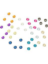 abordables -piezas de diamantes acrílico fiesta de bodas ocasión clásico tema gargen