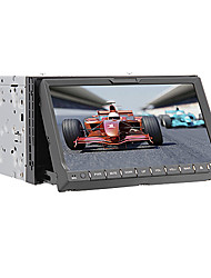 abordables -202DNAR 7 pulgada 2 Din Windows CE 6.0 / Windows CE En tablero reproductor de DVD Bluetooth Integrado / GPS / iPod para Universal Apoyo / RDS / Control de Volante / Salida para Subwoofer