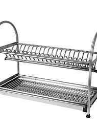 billige -Køkken Rustfrit Stål Reoler og Holdere