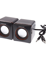 baratos -LF-701 Stereo Mini Speaker Box para Laptops