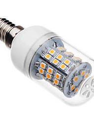 3W E14 LED-kolbepærer T 46 leds SMD 2835 Varm hvid 250-300lm 2500-3500K Vekselstrøm 220-240V