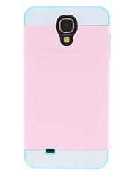 Couleur amovible Matching Housse de protection pour Samsung Galaxy i9500 S4 (cannelé place pour la carte)
