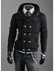 Недорогие -Мужчины Горячие Продажа Толстовка Двойной Брестед пиджаки