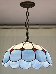 Недорогие -Бисер украшение подвеска, 2 Свет, Тиффани смола стекло Картина Обработка
