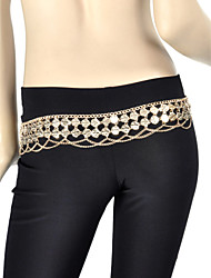 cheap -Belly Dance Belt Women's Training Metal Coins 1 Piece Belt