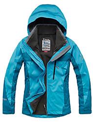 cheap -Women's Ski Jacket Outdoor Winter Waterproof Thermal / Warm Windproof Insulated Rain-Proof Waterproof Zipper Breathable Fleece Winter