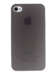 billiga -fodral Till iPhone 4/4S Apple Skal Mjukt TPU för iPhone 4s/4