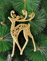 Χαμηλού Κόστους -Χριστούγεννα Goledn Διακόσμηση στολίδι Moose