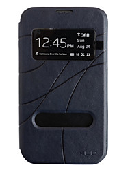 Etui en Similicuir avec EcranVisible pour Samsung Galaxy Note2 N7100 (Autres Coloris Disponibles)
