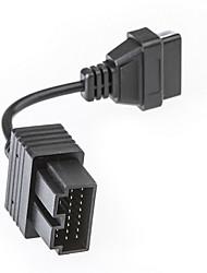 economico -KIA 20Pin a 16pin OBD 2 adattatore femminile del cavo del connettore