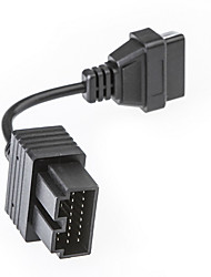 KIA 20 pinos para 16 pinos OBD 2 Feminino Adaptador Cabo Conector