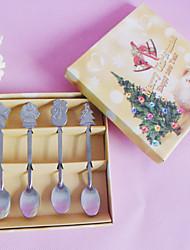 Недорогие -Рождество Партия выступает и Подарки - Столовые наборы / Столовые приборы Нержавеющая сталь Классика