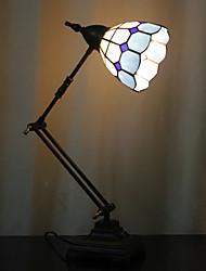 Недорогие -Сетка поворотный кронштейн настольные лампы, 1 Света, Tiffany Железа Стекло картины