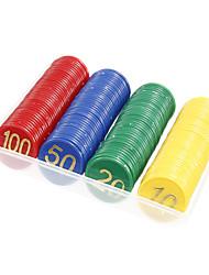 cheap -160pcs Plastic Multi-Color Cartridge Digital Chips