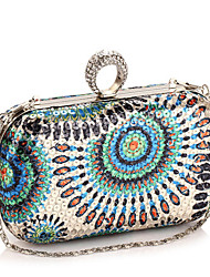cheap -Women Bags Polyester Evening Bag for Event/Party All Seasons Gold Gray Fuchsia Green Blue