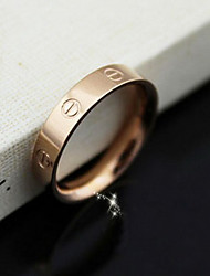 (1 Pc)Fashion Women's Gold  Band Rings