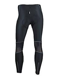 SANTIC Pantaloni da ciclismo Per uomo Bicicletta Pantalone/Sovrapantaloni Calze/Collant/Cosciali Pantaloni Tenere al caldo Antivento