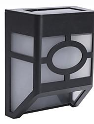 Недорогие -2-LED Солнечные настенного крепления фонаря палубе лампы