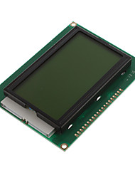 "cheap -5V 3.2"" LCD12864 Screen Module with Backlit (Yellow & Green Screen/English Word Stock)"