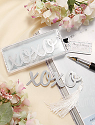 cheap -Stainless Steel Bookmarks & Letter Openers Classic Theme Wedding Favors