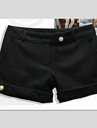 povoljno -Inna Ženska crna Tweed Kratke hlače