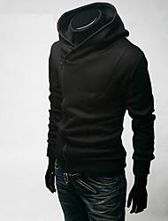 billige -Herre Chic & Moderne Hættetrøjer og trøjer - Ensfarvet