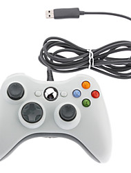 economico -Con cavo USB Game Pad Controller per Microsoft Xbox 360 e Windows PC Slim