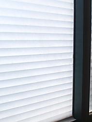 Недорогие -Оконная пленка и наклейки Украшение Классика В полоску ПВХ / винил Пленка на окна / Спальня / Для гостиной