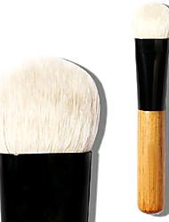billiga -Professionell Makeupborstar Ögonskuggsborste 1 Resan Stor blandning Premium felfri polering stippling Concealer Gethårborste för Kaki Flytande Puder
