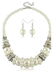 cheap -Women's Pearl Jewelry Set - Statement / Handmade / Fashion Jewelry Set For Party / Gift / Daily