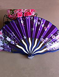 Ventilatori e ombrelloni-# Pezzo / Imposta Ventagli Classico Rosa Lilla 42cmx23cmx1cm 2.4cmx23cmx1cm