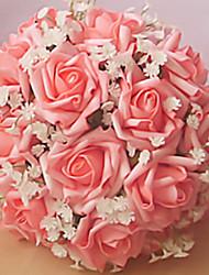 economico -Bouquet sposa Bouquet Matrimonio Partito / sera 22cm